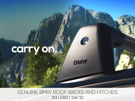 Ecs News Bmw E83 X3 Roof Racks Amp Hitches