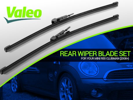 Ecs News Mini R55 Clubman Rear Wiper Blade Set