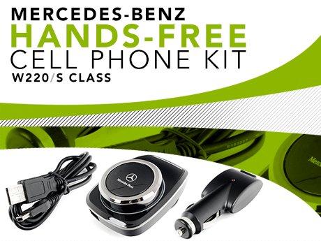 ECS News - Mercedes-Benz W220 Hands-Free Cell Phone Kit