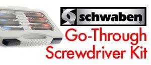 Schwaben Go-Through Screwdriver Kit