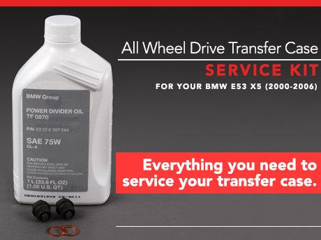 Ecs News Bmw E53 X5 All Wheel Drive Transfer Case