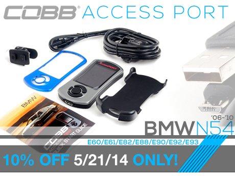 ECS News - BMW N54 Cobb Access Port Sale