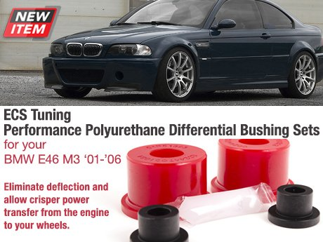ECS News - BMW E46 M3 ECS Performance Differential Bushings