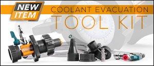 Universal Schwaben Coolant Evacuation Tool Kit