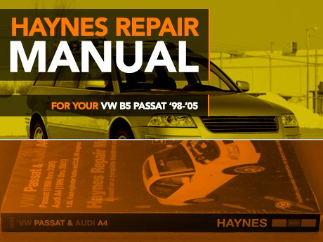 ecs news vw b5 passat haynes repair manual. Black Bedroom Furniture Sets. Home Design Ideas