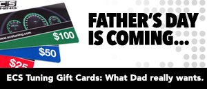 ECS Tuning Gift Cards for Father's Day