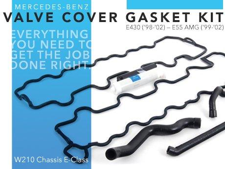 ECS News - Mercedes-Benz W210 E-Class Valve Cover Gasket Kits