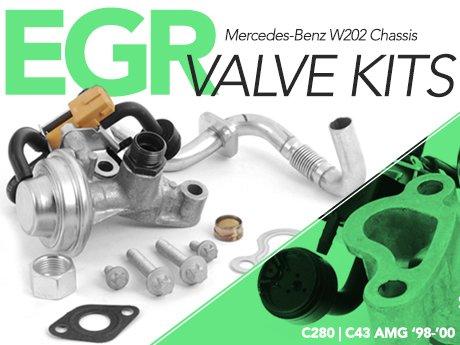 ECS News - Mercedes-Benz W202 C-Class EGR Valve Kits