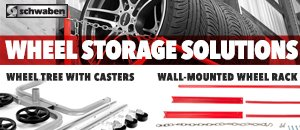 Wheel Storage Solutions from Schwaben
