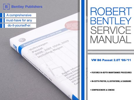 ECS News - VW B6 Passat 2 0T Bentley Service Manual
