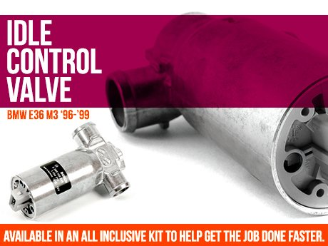 ECS News - BMW E36 M3 Idle Control Valve