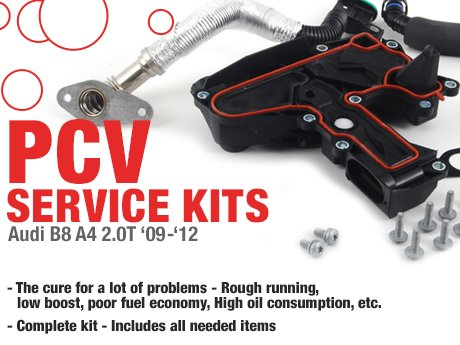 Ecs News Audi B8 A4 2 0t Pcv Service Kits