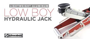 Schwaben Lightweight Aluminum Low Boy Floor Jack