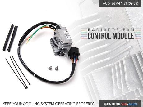 ecs news audi b6 a4 1 8t radiator fan control module rh ecstuning com