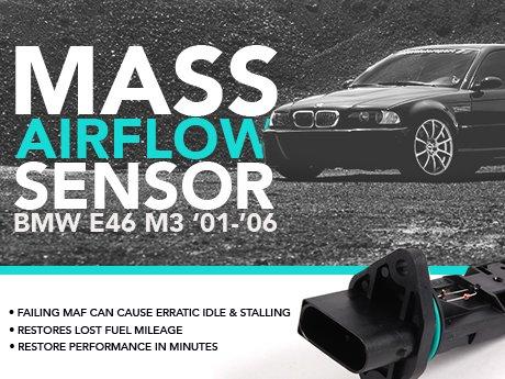 ECS News - BMW E46 M3 Mass Airflow Sensor