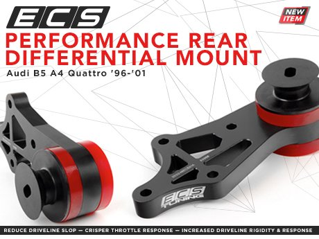 ECS News - Audi B5 A4 Quattro ECS Rear Differential Mount Audi A Differential Bushing on audi a4 cooling system, audi a4 power steering fluid, audi a4 wheels, audi a4 gearbox, audi a4 engine, audi a4 air intake, audi a4 lift kit, audi a4 boost gauge, audi a4 turbocharger, audi a4 muffler, audi a4 firing order, audi a4 blow off valve, audi a4 undercarriage, audi a4 pcv valve, audi a4 timing belt, audi a4 center cap, audi a4 torque converter, audi a4 dashboard, audi a4 front suspension, audi a4 wiper arms,
