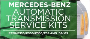 Mercedes-Benz W211 E-Class Auto Trans Service Kits