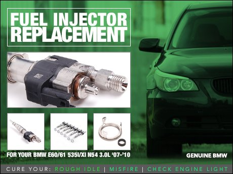 ECS News - BMW E60/E61 535 Fuel Injector Replacement Kit