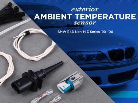 Ecs News Bmw E46 Non M 3 Series Ambient Temp Sensor Repair Kit
