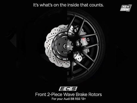 Ecs News Audi B8 Rs5 Ecs 2 Piece Wave Brake Rotors