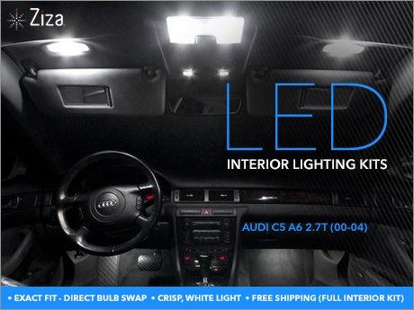 Ecs News Audi C5 A6 2 7t Ziza Interior Lighting Kits