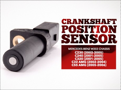 ECS News - Mercedes-Benz W203 C-Class Crankshaft Position Sensor