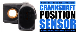 Mercedes-Benz W211 E-Class Crankshaft Position Sensor