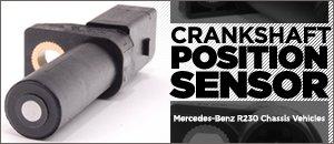 Mercedes-Benz R230 SL-Class Crankshaft Position Sensor