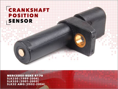 Ecs news mercedes benz r170 crankshaft position sensor for Mercedes benz crank sensor