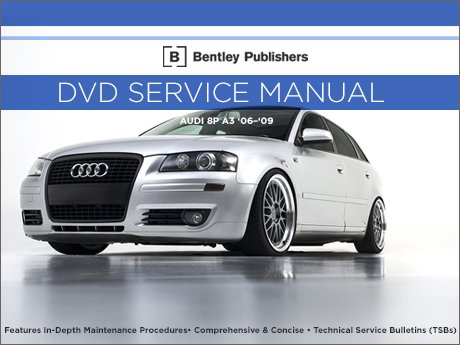 ecs news audi 8p a3 bentley dvd service manual. Black Bedroom Furniture Sets. Home Design Ideas