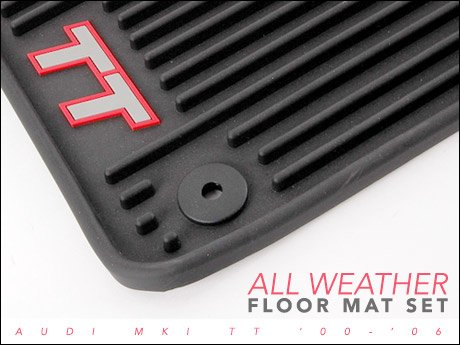 Ecs News Audi Mki Tt All Weather Floor Mats