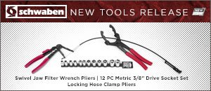 Schwaben Hose Clamp & Swivel Head Pliers & Socket Set