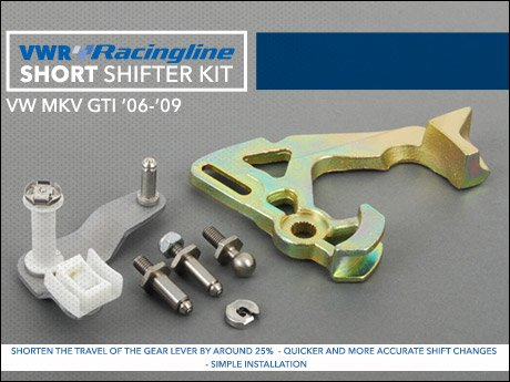 ECS News - VW MKV GTI VWR Racingline Short Shift Kit