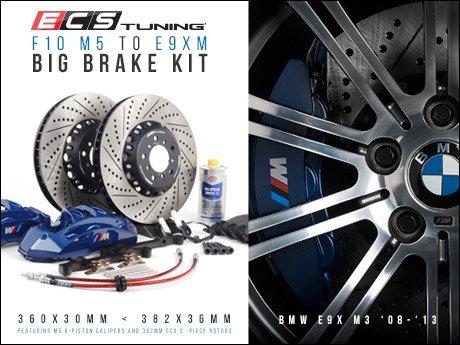 Ecs News Bmw E9x M3 Big Brake Kit