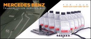 Mercedes-Benz W203 Automatic Transmission Service Kits