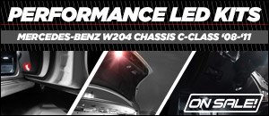 Mercedes-Benz W204 Chassis C-Class Ziza Lighting Kits
