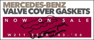 Mercedes-Benz W211 E500 Valve Cover Gasket Kits
