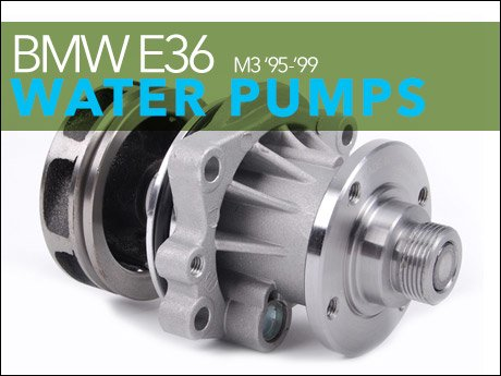 BMW E36 M3 Water Pumps