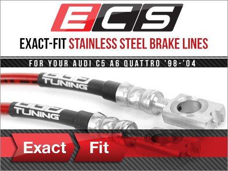 Ecs News Audi C5 A6 Quattro Ecs Exact Fit Brake Lines