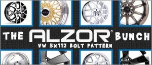 Volkswagen 5x112 Alzor Wheels