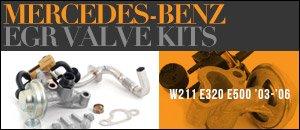 Mercedes-Benz W211 E320/E500 EGR Valve Kits