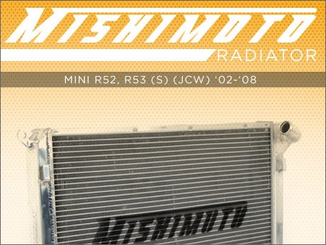 ECS News - MINI R52/R53 Cooper S/JCW Mishimoto Radiator