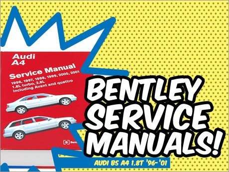 ecs news audi b5 a4 1 8t bentley service manuals. Black Bedroom Furniture Sets. Home Design Ideas