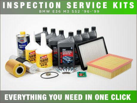 ECS News - BMW E36 M3 S52 Inspection Service Kits