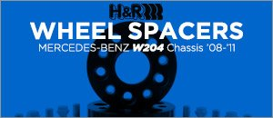 Mercedes-Benz W204 Chassis C-Class Wheel Spacer Kits