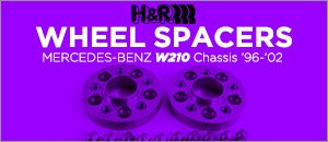 Mercedes-Benz W210 Chassis E-Class Wheel Spacer Kits