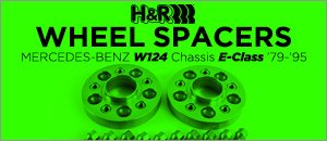 Mercedes-Benz W124 Chassis E-Class Wheel Spacer Kits