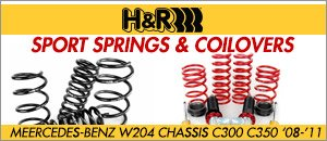 Mercedes-Benz W204 C300/C350 H&R Suspension Products