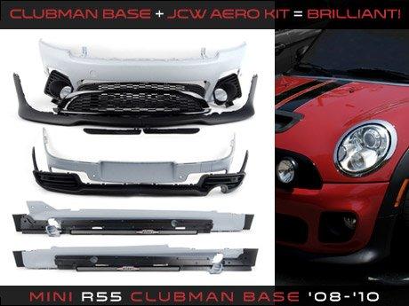 Ecs News Mini R55 Clubman Jcw Aero Kit