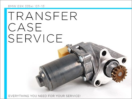 Ecs News Bmw E9x 335xi Transfer Case Service